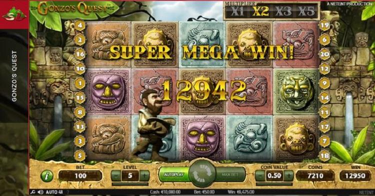 Gonzo's-Quest-Super-Mega-Win