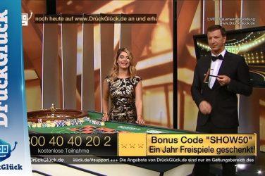Freispiele im DrückGlück live casino
